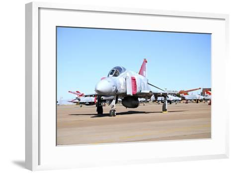 U.S. Air Force Qf-4 Phantom Ii on the Ramp at Holloman Air Force Base-Stocktrek Images-Framed Art Print