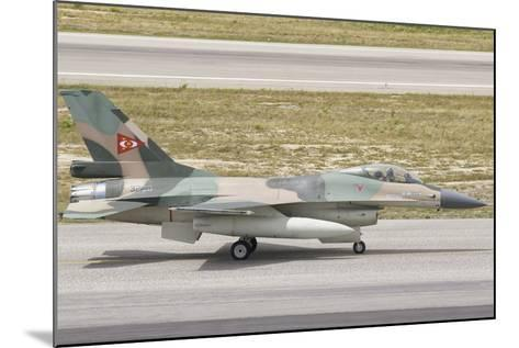 Venezuelan Air Force F-16 at Natal Air Force Base, Brazil-Stocktrek Images-Mounted Photographic Print