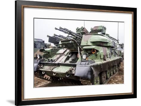 The Zsu-23-4 Shilka of the Polish Armed Forces-Stocktrek Images-Framed Art Print