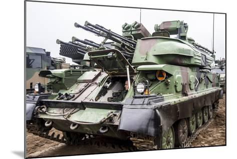 The Zsu-23-4 Shilka of the Polish Armed Forces-Stocktrek Images-Mounted Photographic Print