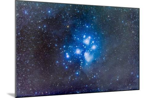 The Pleiades, also known as the Seven Sisters-Stocktrek Images-Mounted Photographic Print