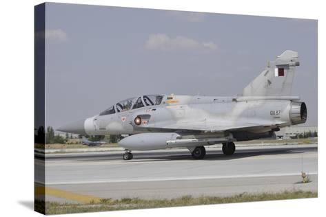 A Dassault Mirage 2000-5Dda of the Qatar Emiri Air Force-Stocktrek Images-Stretched Canvas Print