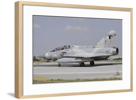 A Dassault Mirage 2000-5Dda of the Qatar Emiri Air Force-Stocktrek Images-Framed Art Print