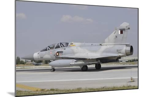 A Dassault Mirage 2000-5Dda of the Qatar Emiri Air Force-Stocktrek Images-Mounted Photographic Print