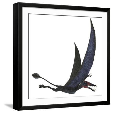 Dorygnathus Pterosaur from the Jurassic Period-Stocktrek Images-Framed Art Print