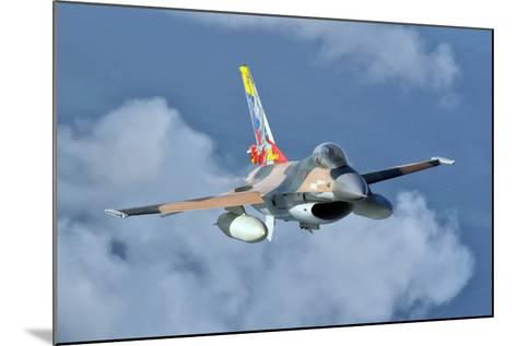 Venezuelan Air Force F-16 in Flight over Brazil-Stocktrek Images-Mounted Photographic Print