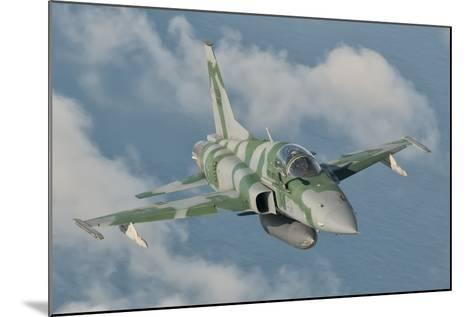 Brazilian Air Force F-5 in Flight over Brazil-Stocktrek Images-Mounted Photographic Print