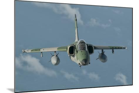 Brazilian Air Force Amx in Flight over Brazil-Stocktrek Images-Mounted Photographic Print