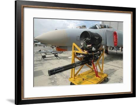 M61A1 20Mm Vulcan Gun from a German Air Force F-4F Phantom-Stocktrek Images-Framed Art Print