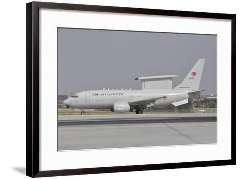 A Turkish Air Force Boeing 737 Airborne Early Warning and Control Aircraft-Stocktrek Images-Framed Art Print