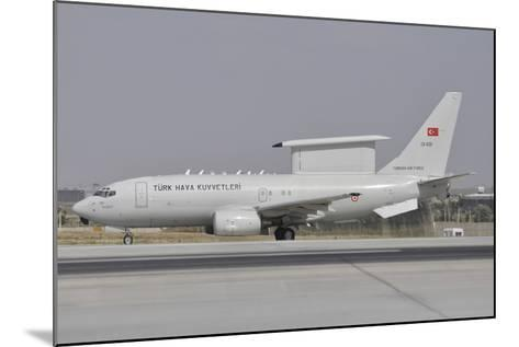 A Turkish Air Force Boeing 737 Airborne Early Warning and Control Aircraft-Stocktrek Images-Mounted Photographic Print