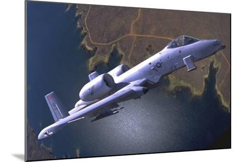 A U.S. Air Force A-10 Thunderbolt During a Demo Flight-Stocktrek Images-Mounted Photographic Print