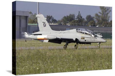 Mb-339Cd of the Italian Air Force Flight Test Unit-Stocktrek Images-Stretched Canvas Print