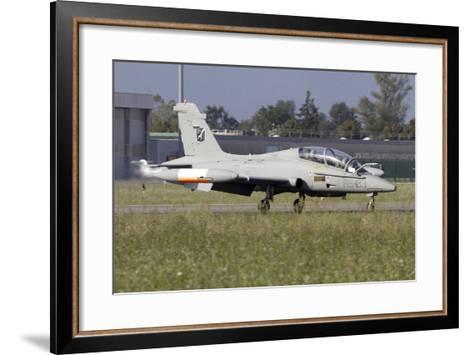 Mb-339Cd of the Italian Air Force Flight Test Unit-Stocktrek Images-Framed Art Print