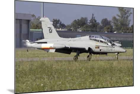 Mb-339Cd of the Italian Air Force Flight Test Unit-Stocktrek Images-Mounted Photographic Print
