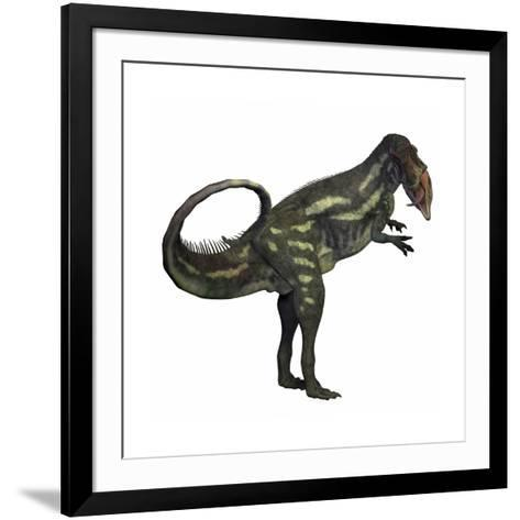 Allosaurus Dinosaur-Stocktrek Images-Framed Art Print
