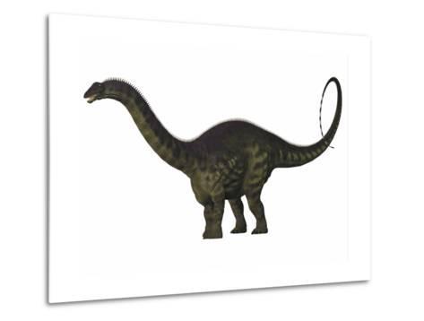 Apatosaurus Dinosaur-Stocktrek Images-Metal Print