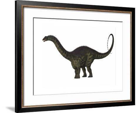 Apatosaurus Dinosaur-Stocktrek Images-Framed Art Print