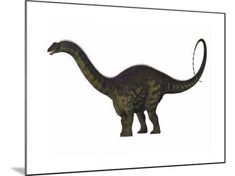 Apatosaurus Dinosaur-Stocktrek Images-Mounted Art Print