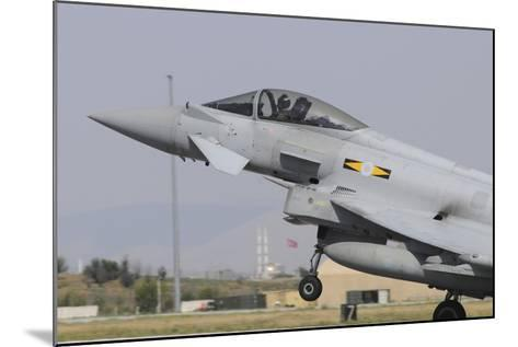 A Royal Air Force Eurofighter Ef2000 Typhoon Taking Off-Stocktrek Images-Mounted Photographic Print