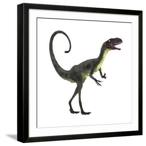 Dilong Dinosaur-Stocktrek Images-Framed Art Print