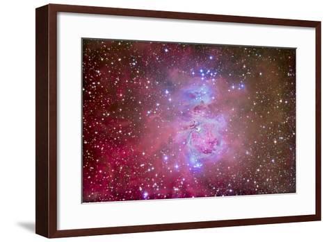 The Orion Nebula Region-Stocktrek Images-Framed Art Print