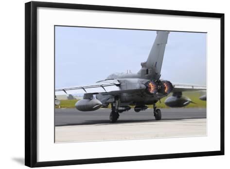 Tornado Gr4 of the Royal Air Force Taking Off from Raf Lossiemouth-Stocktrek Images-Framed Art Print