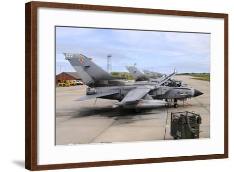Tornado Gr4 of the Royal Air Force at Raf Lossiemouth-Stocktrek Images-Framed Art Print