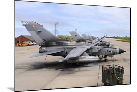 Tornado Gr4 of the Royal Air Force at Raf Lossiemouth-Stocktrek Images-Mounted Photographic Print