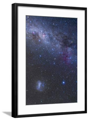 The Southern Sky and Milky Way from Canopus Up to the Carina Nebula-Stocktrek Images-Framed Art Print