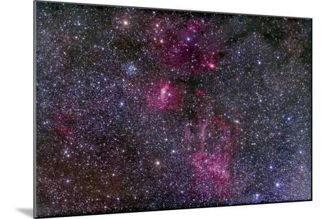 Messier 52 and the Bubble Nebula in Cassiopeia-Stocktrek Images-Mounted Photographic Print