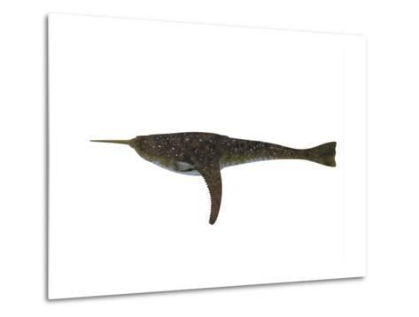 Doryaspis Jawless Fish from the Devonian Period-Stocktrek Images-Metal Print