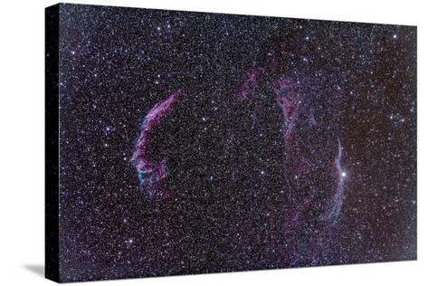 The Veil Nebula-Stocktrek Images-Stretched Canvas Print