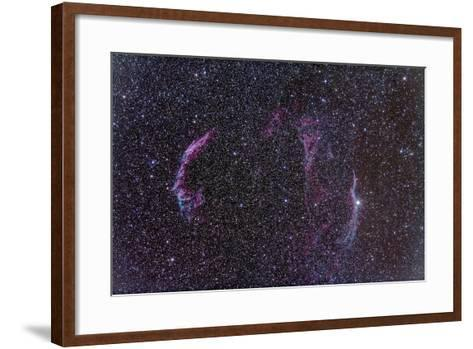 The Veil Nebula-Stocktrek Images-Framed Art Print