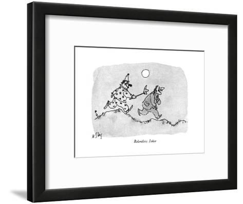 New Yorker Cartoon-William Steig-Framed Art Print
