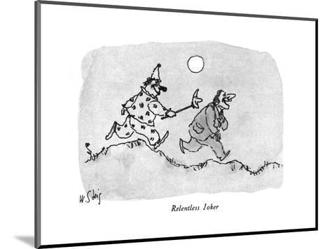 New Yorker Cartoon-William Steig-Mounted Premium Giclee Print