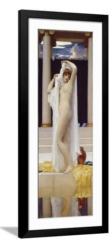 The Bath of Psyche-Lord Frederic Leighton-Framed Art Print