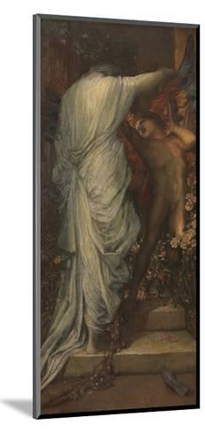 Love and Death-George Frederic Watts-Mounted Giclee Print