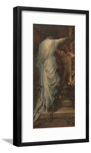 Love and Death-George Frederic Watts-Framed Art Print