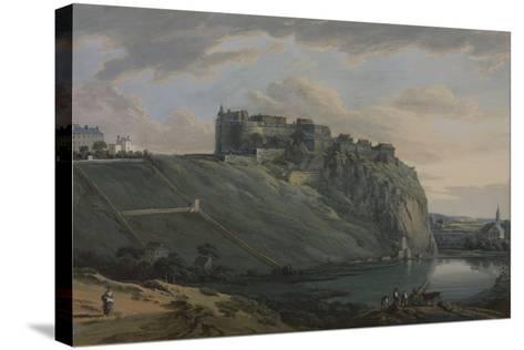 Edinburgh Castle-Paul Sandby-Stretched Canvas Print