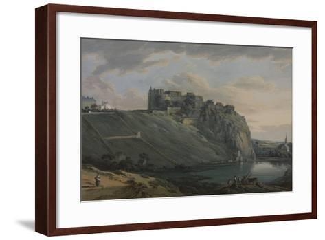 Edinburgh Castle-Paul Sandby-Framed Art Print