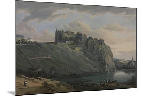 Edinburgh Castle-Paul Sandby-Mounted Giclee Print