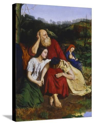 By the Waters of Babylon-Philip Hermogenes Calderon-Stretched Canvas Print