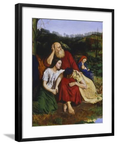 By the Waters of Babylon-Philip Hermogenes Calderon-Framed Art Print