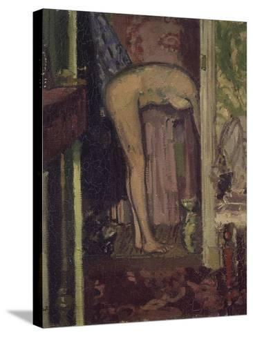 Woman Washing Her Hair-Walter Richard Sickert-Stretched Canvas Print
