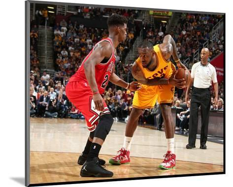Chicago Bulls v Cleveland Cavaliers - Game Five-Nathaniel S Butler-Mounted Photo