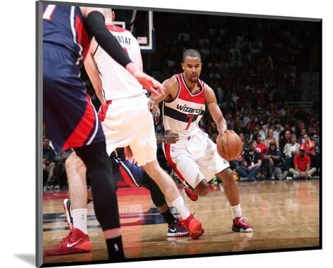 Atlanta Hawks v Washington Wizards - Game Four-Ned Dishman-Mounted Photo