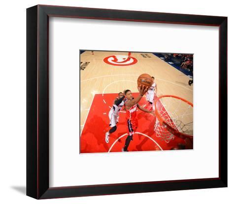 Washington Wizards V Atlanta Hawks - Game Five-Jesse D Garrabrant-Framed Art Print