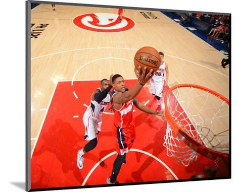 Washington Wizards V Atlanta Hawks - Game Five-Jesse D Garrabrant-Mounted Photo