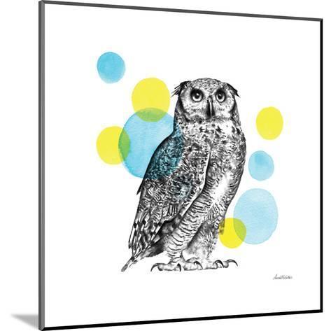Sketchbook Lodge Owl-Lamai McCartan-Mounted Art Print